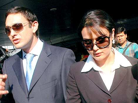 Preity Zinta and Salman Khan: Jaded glamour at derby