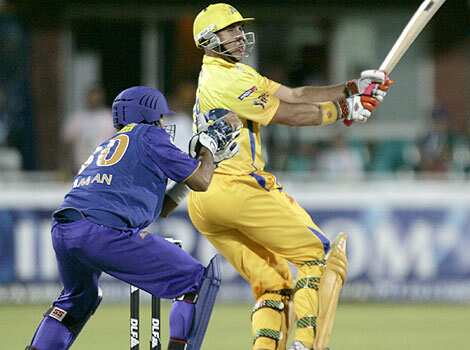 Hayden in full flow: Chennai Super Kings