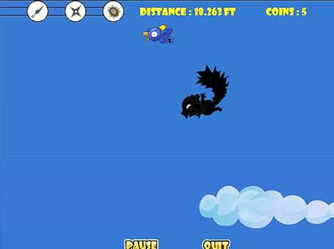 Fly Squirrel Fly 2:  Launch the squirrel as far as possible! Collect cash to upgrade your equipment in the shop. You can upgrade just about everything, your launcher, your special effects, parachute coasting and more! Top 10 games for Blackberry Playbook