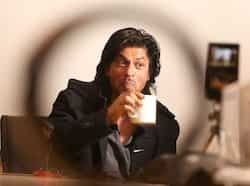 Shah Rukh Khan looked every bit of his character in Don 2 as he visited HT House on Monday, ahead of the film