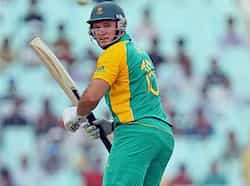 South African captain Graeme Smith plays a shot during the World Cup match against Ireland in Kolkata. South Africa beat Ireland