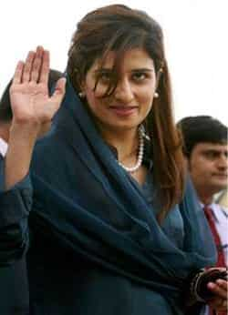 She served as the State Minister for Economic Affairs and Statistics in the cabinet of Yousaf Raza Gillani. Profiling Hina Rabbani Khar