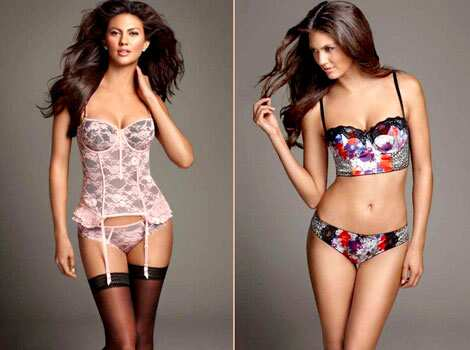 Lovely lingerie! The sisters have brought in their own seductive glam to the lingerie designs. Kardashian Kollection Debuts