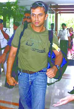 Dravid was the top scorer in the 1999 Cricket World Cup, with 461 runs. Rare Dravid pics