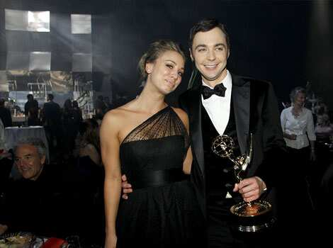 Cuoco and Jim Parsons from