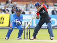 The fourth ODI between India and England ended in a tie after rain stopped play for the third time. Ex-England opener Geoffrey Boycott says there were moments where India could have won. He was impressed with partnership between MS Dhoni and Suresh Raina.