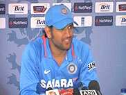 <P>Team India skipper Mahendra Singh Dhoni while addressing a post-match news conference in London, on Sunday said that the return of senior players to the One-Day International (ODI) squad in October would deplete teams fielding performance. The Indian captain was speaking after the penultimate match of the ODI series between India and England ended in a tie. Dhoni said that this was the second time in the series that a potential India win was halted by bad weather. He said that the series loss did not in any way reduce the importance of the last match, scheduled to be played in Cardiff on Friday. India, on the strength of a 169-run partnership between Dhoni and his deputy, Suresh Raina, scored 280 after being asked to bat first by England, who won the toss. The batsmen scored 78 and 84 respectively. <BR></P>