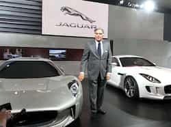 Tata Sons chairman Ratan Tata unveils Jaguar car at the 11th Auto Expo 2012, at Pragati Maidan in New Delhi. (HT Photo/Arvind Yadav) Hot wheels at Auto Expo