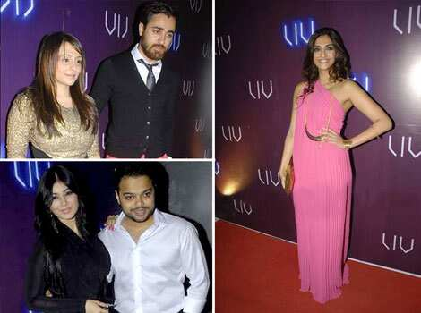 Sonam Kapoor and Imran Khan were among the many stars present at Ayesha Takia