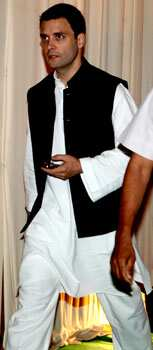 Congress general secretary Rahul Gandhi also graced the event. (Photo/Manoj Verma) Saifeena