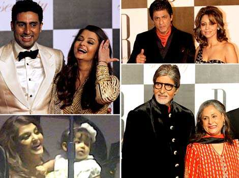As the megastar turned 70, the creme dela creme of Bollywood were in full attendance to wish the legend, Amitabh Bachchan. Here