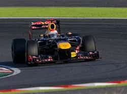 Red Bull Formula One driver Sebastian Vettel of Germany drives during the Japanese F1 Grand Prix at the Suzuka circuit. (Reuters/Kim Kyung-Hoon) Vettel wins Japanese GP