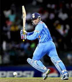 Virender Sehwag bats during the ICC Twenty20 Cricket World Cup Super Eight match between India and South Africa in Colombo, Sri Lanka. HT Photo/Ajay Aggarwal WC T20: India knocked out