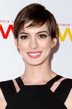 Anne Hathaway attends the 2012 Women