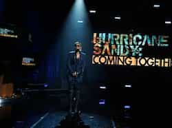 Musician Mary J. Blige performs during Hurricane Sandy: Coming Together, a Red Cross telethon on NBC to benefit victims of Hurricane Sandy in New York. Reuters photo