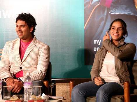 Saina thanked Yuvraj who launched Saina