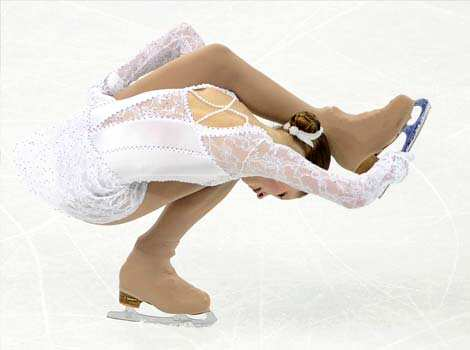 Julia Lipnitskaia of Russia performs her routine in the Ladies Free Skating program during the Cup of China, the third event on the ISU Grand Prix figure skating tour, in Shanghai. AFP photo Figure
