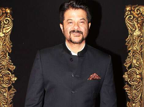 Anil Kapoor dons a black bandhgala. STARRY NIGHT! Bollywood at Jab Tak Hai Jaan premiere