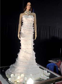 Model of a bride made by Nilgiri
