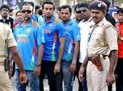 Indian cricket fans wait in line outside M Chinnaswamy stadium in Bangalore. AFP/Manjunath Kiran Pak beat India in first T20