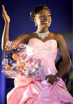 Grace Onouha waves after she was declared the winner of Miss Eko 18th National sports festival beauty pageant in Lagos, Nigeria. AP PhotoGrace Onouha waves after she was declared the winner of Miss Eko 18th National sports festival beauty pageant in Lagos, Nigeria. AP Photo Dec 8: day in pics