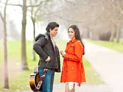 Shah Rukh Khan and Katrina Kaif look good together in a still from Yash Chopra