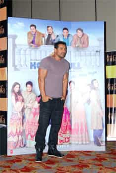 Housefull 2 actor John Abraham at the event. Bollywood votes at IIFA awards