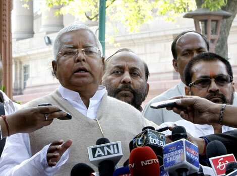 Fare hike will not bail out Indian Railways: Lalu Prasad Yadav (former railway minister).  HT Photo/Sonu Mehta Rail Budget rolls out
