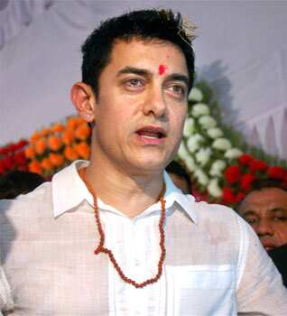 Aamir is currently wrapping up the final episodes of his TV show, Satyamev Jayate, after which he will start shooting for Dhoom 3. Aamir Khan attends rickshaw puller