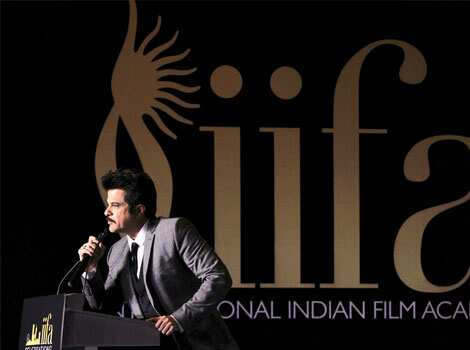 Anil Kapoor speaks at a media event to announce the venue of the International Indian Film Academy (IIFA) Weekend and Awards. (Reuters) Bipasha, Anil announce IIFA venue