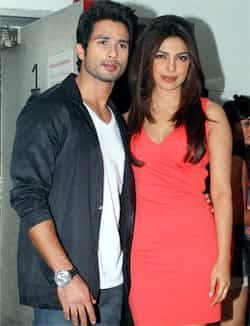 Priyanka Chopra and Shahid Kapoor, who were rumoured to be dating, don