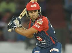Delhi Daredevils batsman Naman Ojha plays a shot during the IPL Twenty20 cricket match between the  Deccan Chargers and Delhi Daredevils in Hyderabad. (AFP Photo/ Noah Seelam) Delhi thrash Deccan