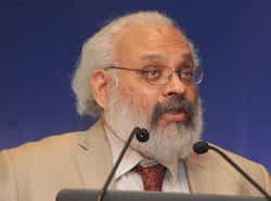 Subir Gokarn, deputy governor of Reserve Bank of India, addresses an interactive session on RBI