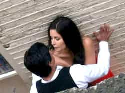 Shah Rukh Khan and Katrina Kaif, who are working together for the first time, recently shot for a romantic sequence at Covent Garden in London for Yash Chopra