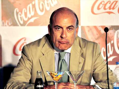 Coca-Cola Co. Chairman and CEO Muhtar Kent attends a meeting in New Delhi. The world