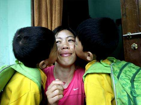 Five-time world boxing champion Mary Kom