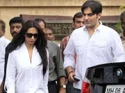 Arbaaz Khan and Malaika Arora Khan were also there to pay their condolences. Rajesh Khanna put to rest