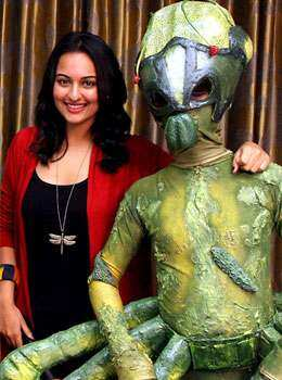 Sonakshi Sinha poses with an