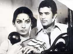 Rajesh Khanna played a convincing widower in film Thodi Si Bewafai. Rajesh Khanna, superstar of romance