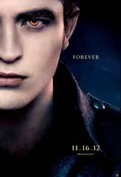 Robert Pattinson will play Edward Cullen one last time. Twilight Saga: Breaking Dawn 2