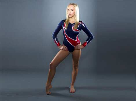 Gymnast Nastia Liukin poses for a portrait during the 2012 US Olympic team media summit in Dallas. The 22-year-old amazes all with her flexible physique and her bevy of gold medals! Reuters/Lucas Jackson Femme fatales @Olympics