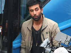 Cool dudes Ranbir Kapoor and Virat Kohli were seen shooting for a soft drink commercial in Delhi recently. The two certainly seem to be having a blast! Take a look... SPOTTED: Rockstar Ranbir in Delhi