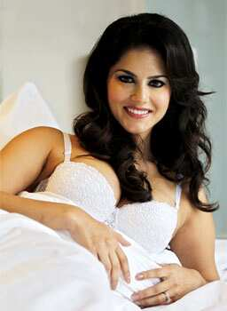 Sunny Leone is all set to mark her Bollywood debut. (HT Photo/Ajay Aggarwal) SNOW WHITE! Sunny Leone seduces in lingerie