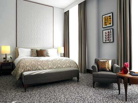 The hotel features 202 guest rooms including 43 suites. Photo: AFP Ritz-Carlton Hotel arrives in Vienna palaces