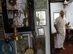 E Sreedharan at his residence in Ponnani, Kerela. HT/Arijit Sen Daily life of the metro man