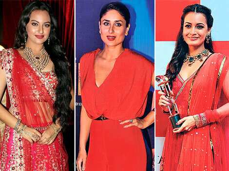 Sexy and dramatic — the colour red on film divas is making heads turn this season. Take a look at Bollywood
