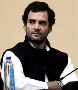 Rahul Gandhi after he was appointed as vice president of the Congress party in Jaipur. PTI Photo Rahul elevated