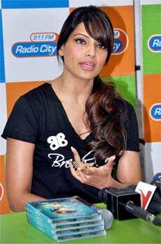 Bipasha talks about her fitness DVD Break Free at the press conference. FIT