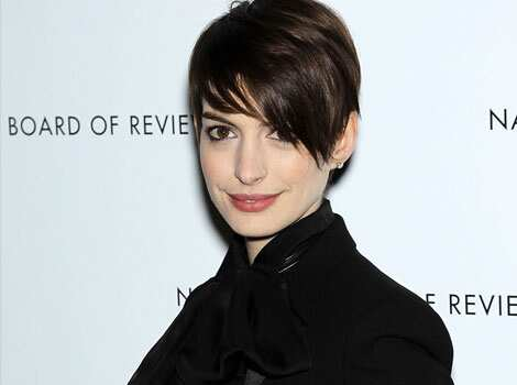 Anne Hathaway has been nominated for best supporting actress for her role in Les Miserables. AP Photo/Starpix Oscar 2013 nominations ceremony