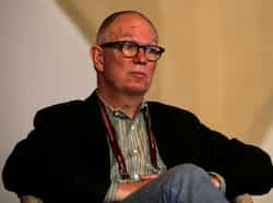 Ian Buruma at the Jaipur Literature Festival in Jaipur. (HT Photo) Walking through JLF 2013